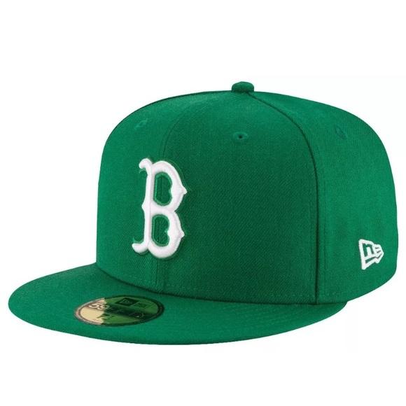 59 Fifty BOSTON RED SOX hat green by New Era 6ffac98bf97f